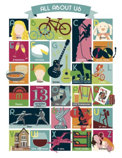 Personalised A-Z Artwork
