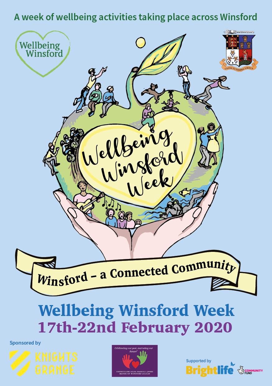 Welbeing winsford week flyer artwork