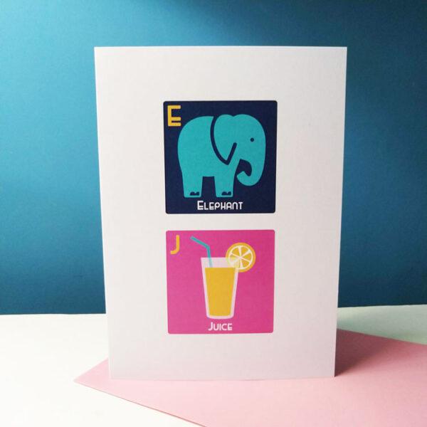 Elephant Juice Card