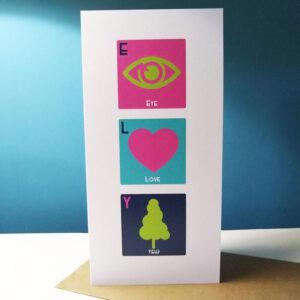 Eye Love Yew Card