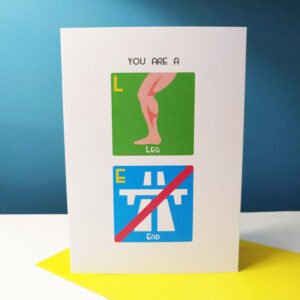 Leg End Card