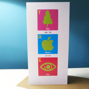 Apple of My Eye Card